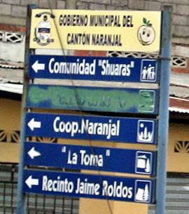 05 - Comunidas shuar en cantón  Naranjal - ruta E25 GYE a Huaquillas (2013)