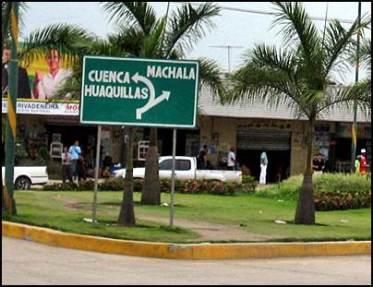 37 - Dirección a la ciudad de Machala - ruta E25 GYE a Huaquillas (2013)